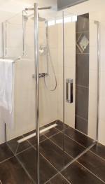 Bodenbündige Dusche